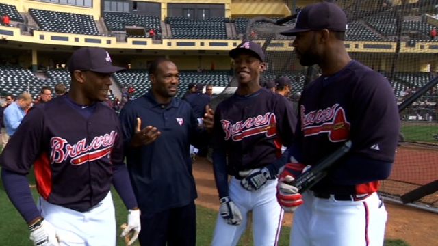 Heyward, Upton brothers form lethal trio