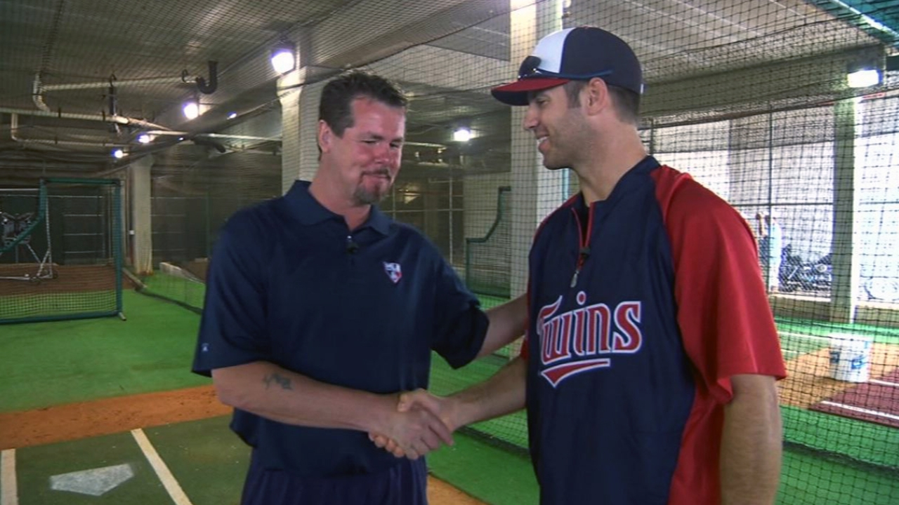 He's number ... 2? Mauer bats second on Opening Day