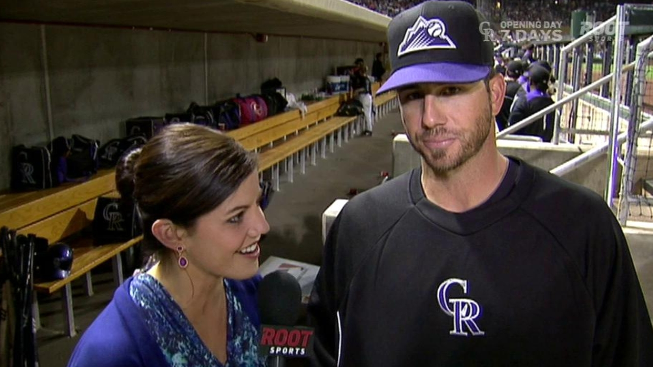 Garland excited for chance in Rox rotation
