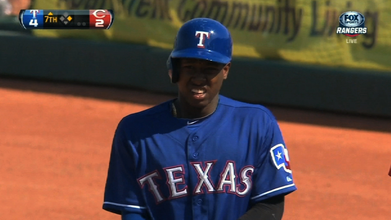 Profar sidelined with soreness on left side