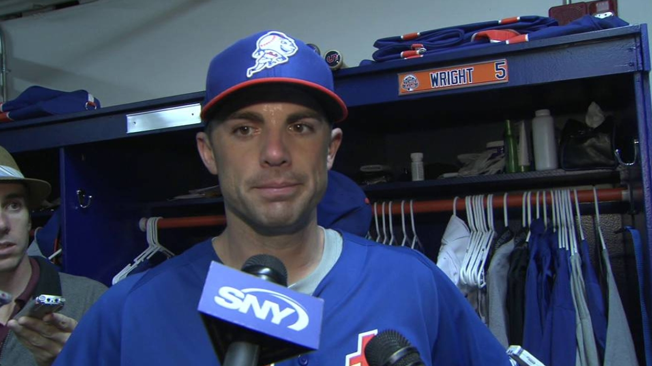 Wright plays in Minors, 'optimistic' about Opening Day