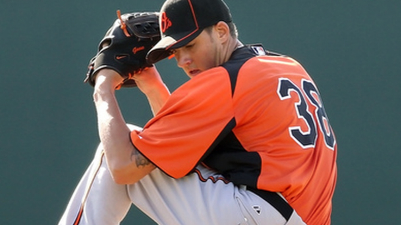 Gausman impresses O's with first bullpen session