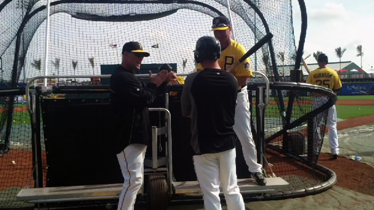 Bell excited about first Pirates opener in 17 years