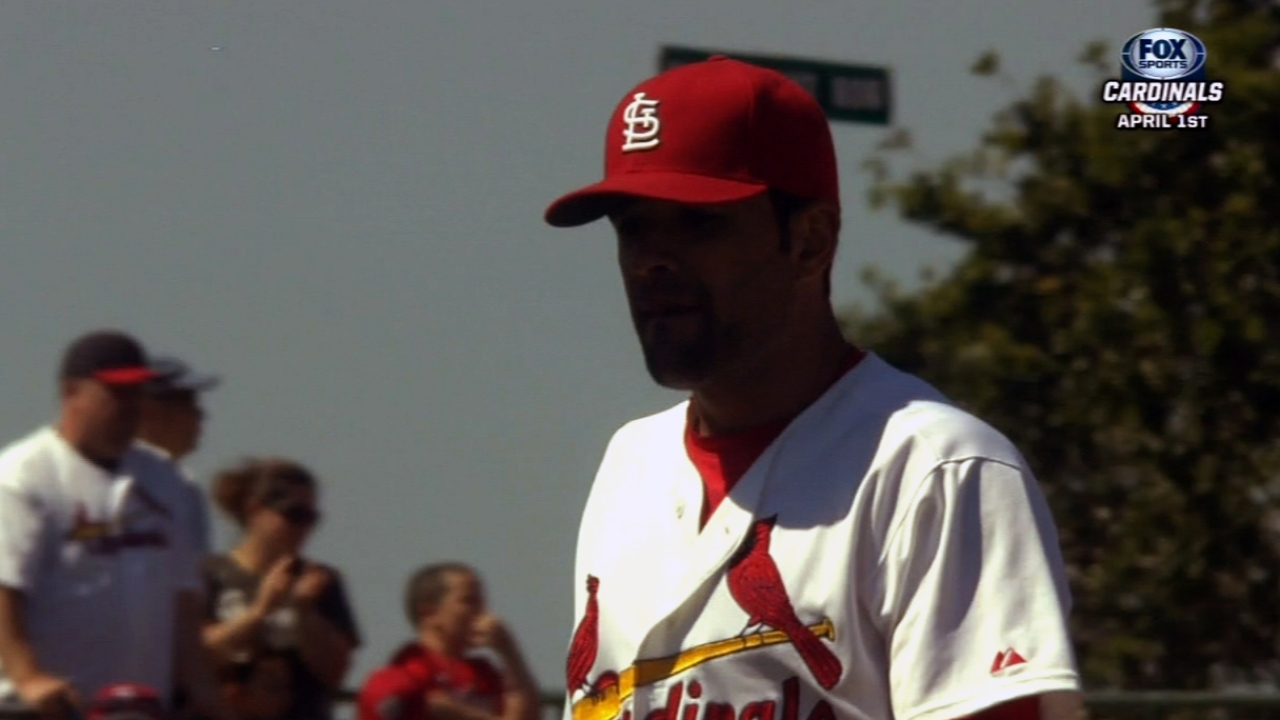Garcia excited to start Cardinals' home opener