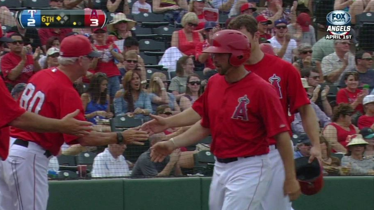 Richards solid as Angels rally to beat Rangers
