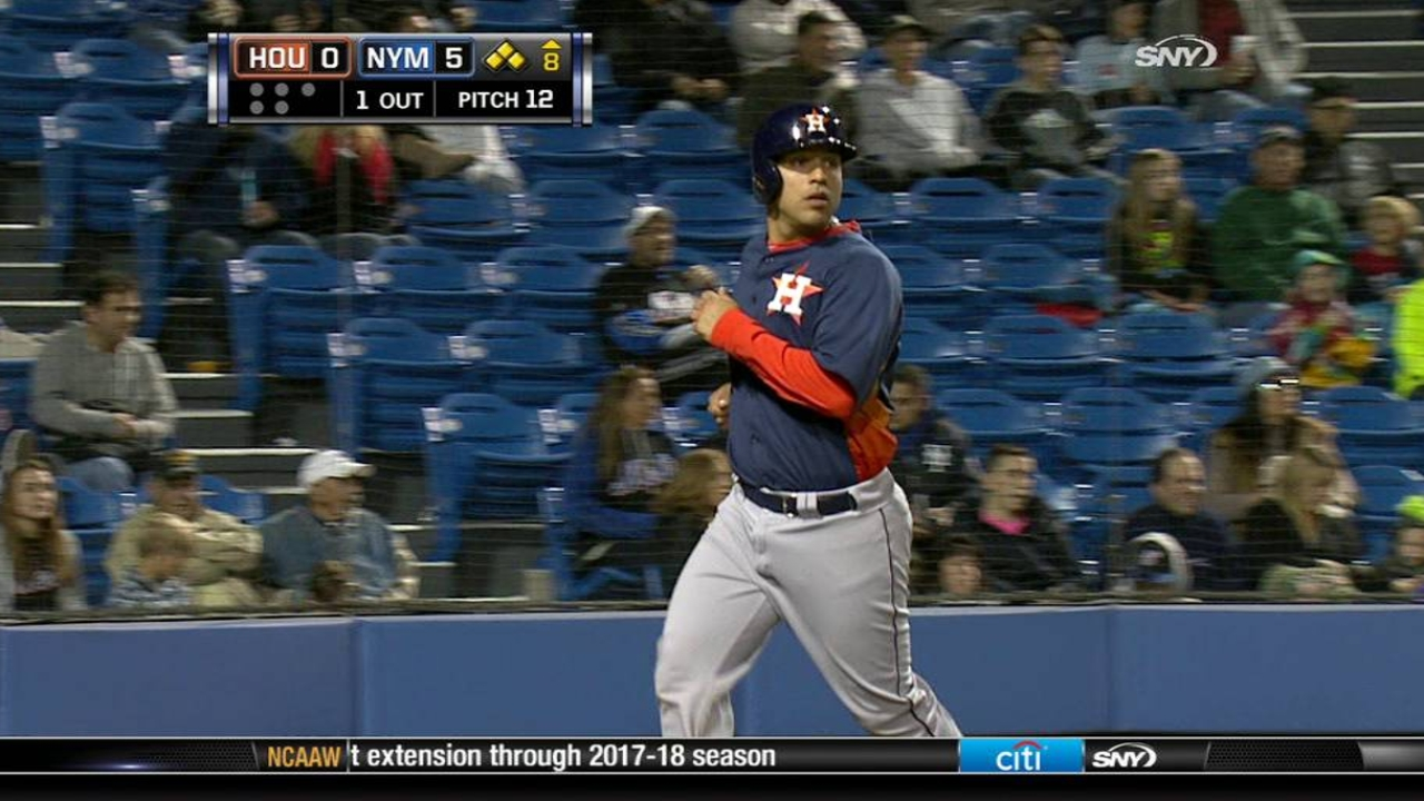 Prospect Correa happy with first spring as pro