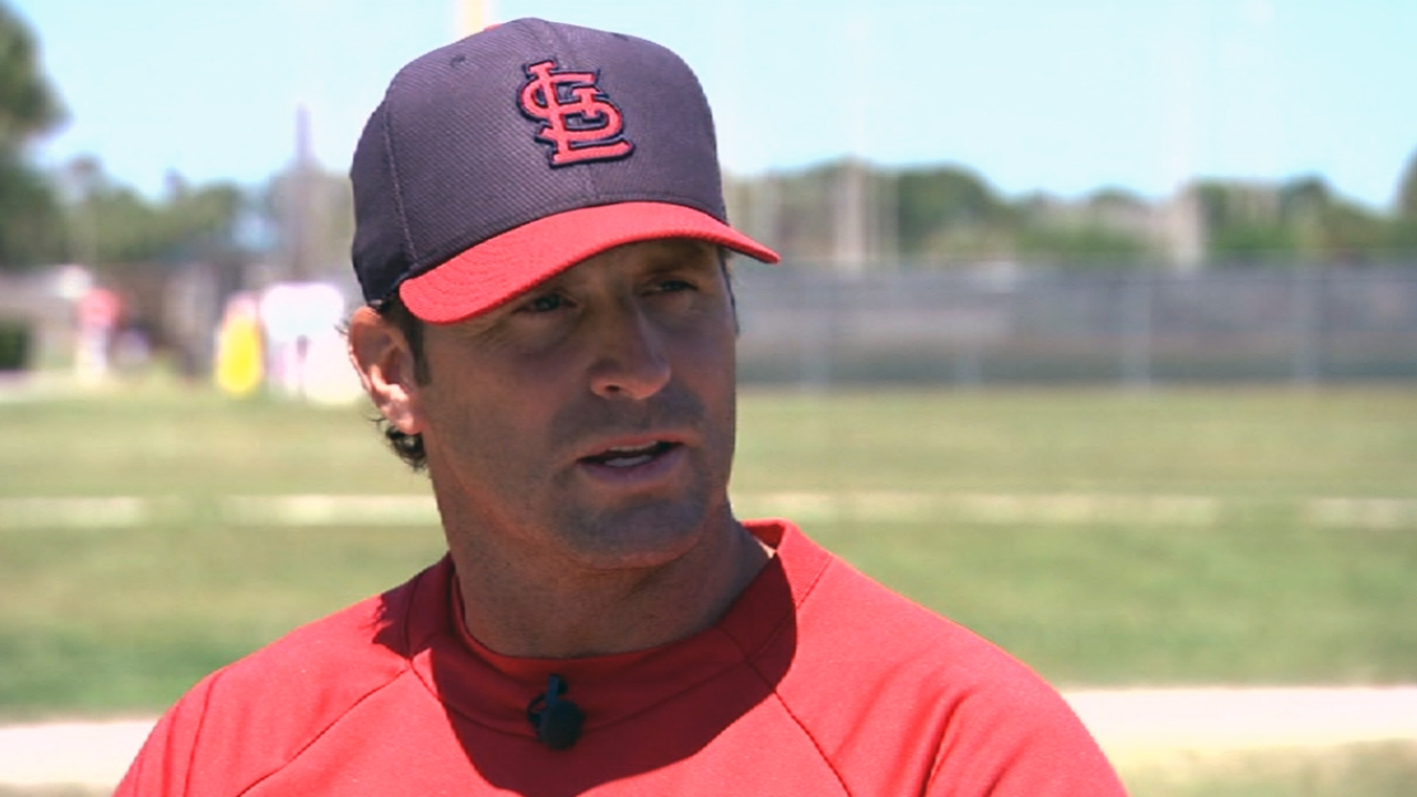 Matheny unveils Cardinals' Opening Day lineup