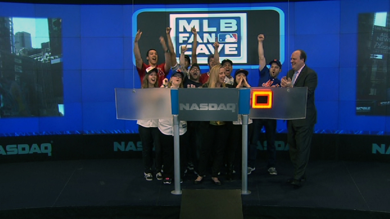 Cave Dwellers ring Opening Bell at NASDAQ