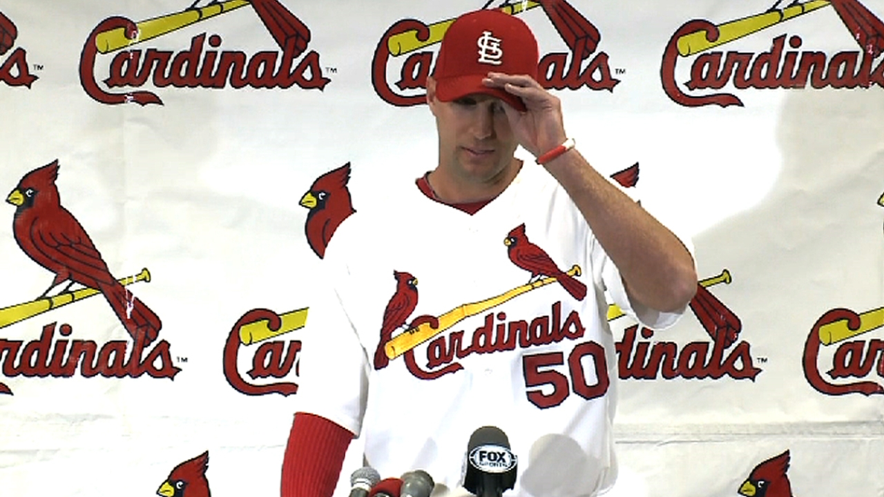 Wainwright, Cardinals agree on five-year extension