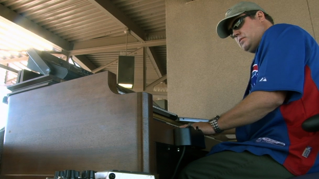 Organist plays final notes at HoHoKam Park