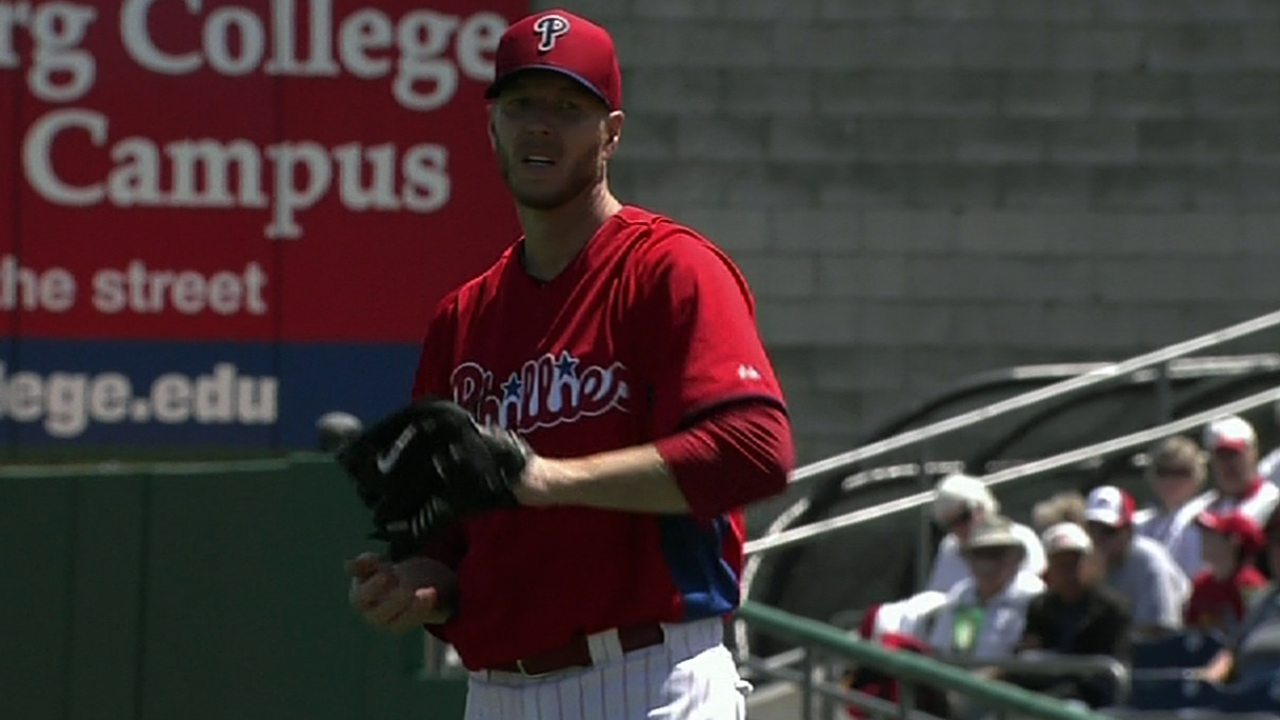 Phillies confident with Halladay as second starter