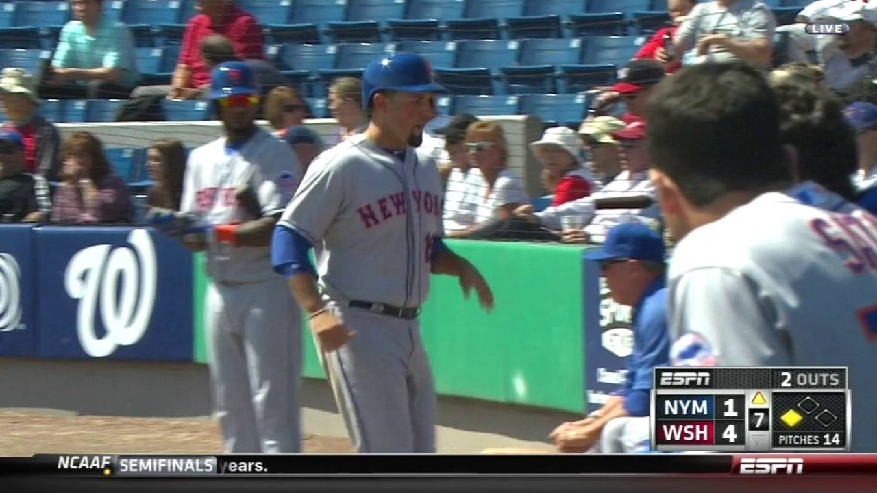 Mets' offense held in check by Nationals