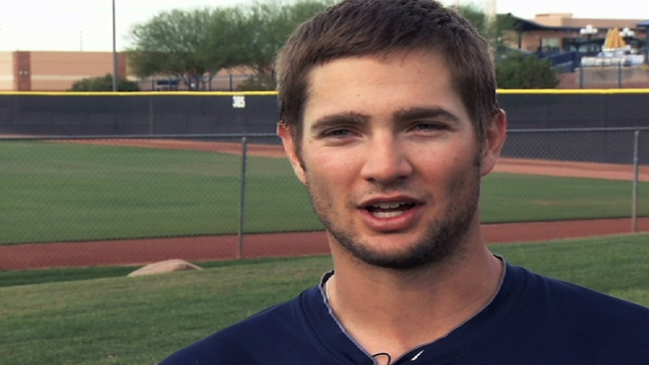 After six weeks of inactivity, Luebke playing catch