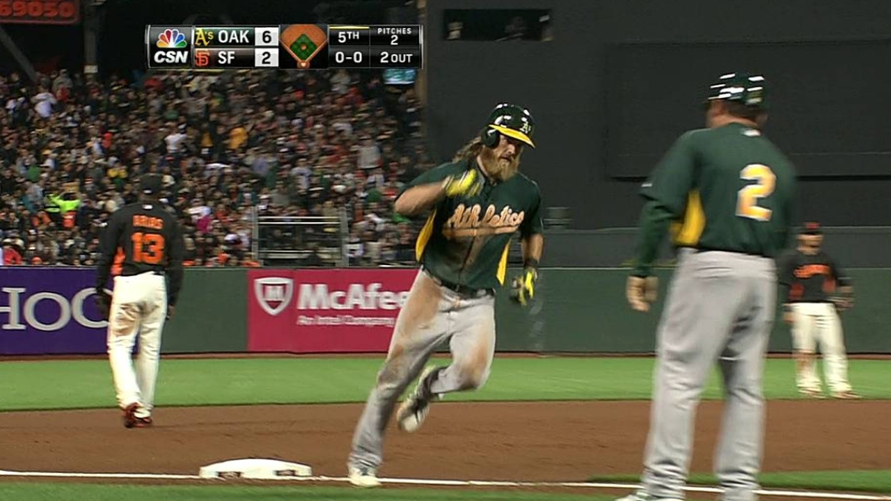 Reddick, Cespedes homer to back Milone