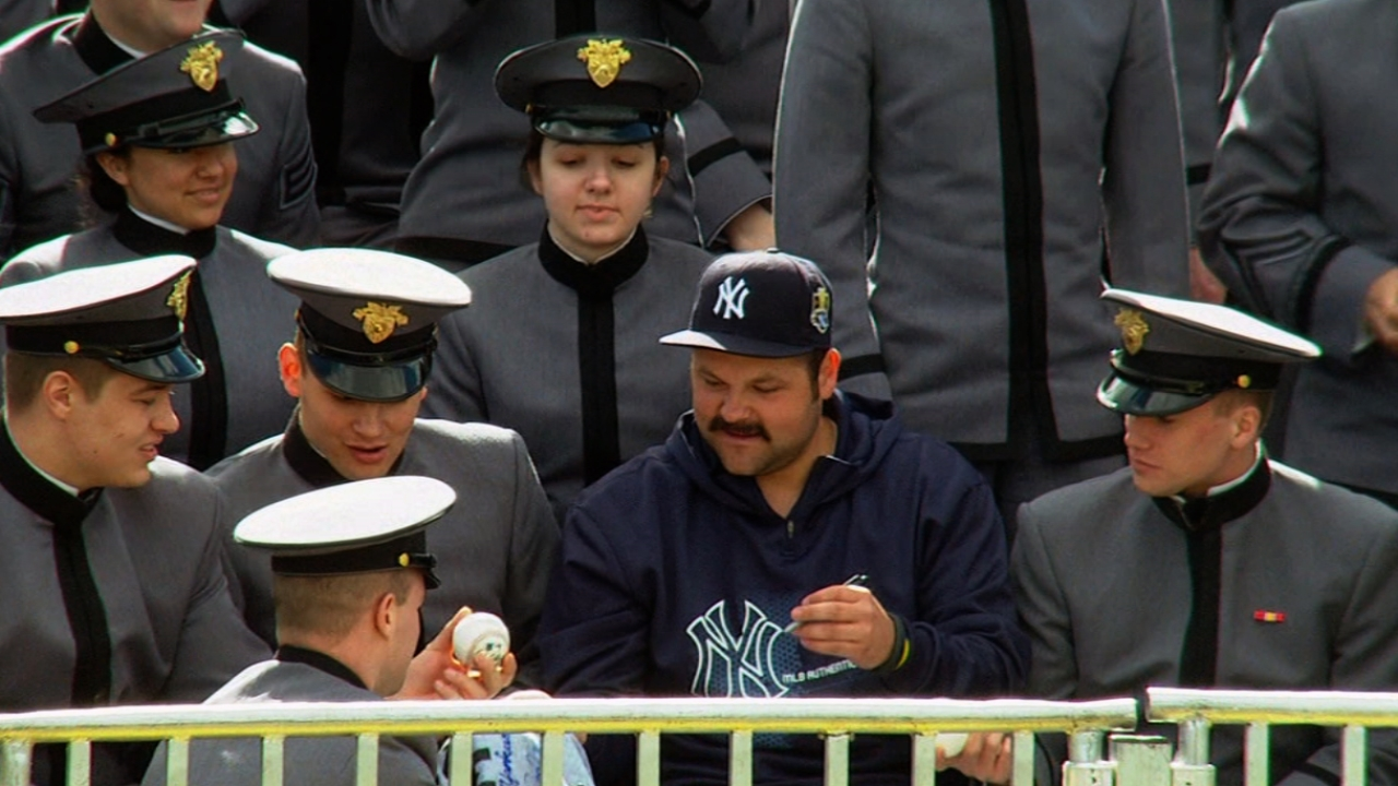 Yankees relish touring Army campus