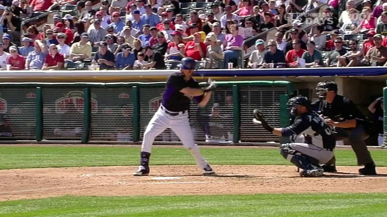 Helton's 16th straight opener could be his last