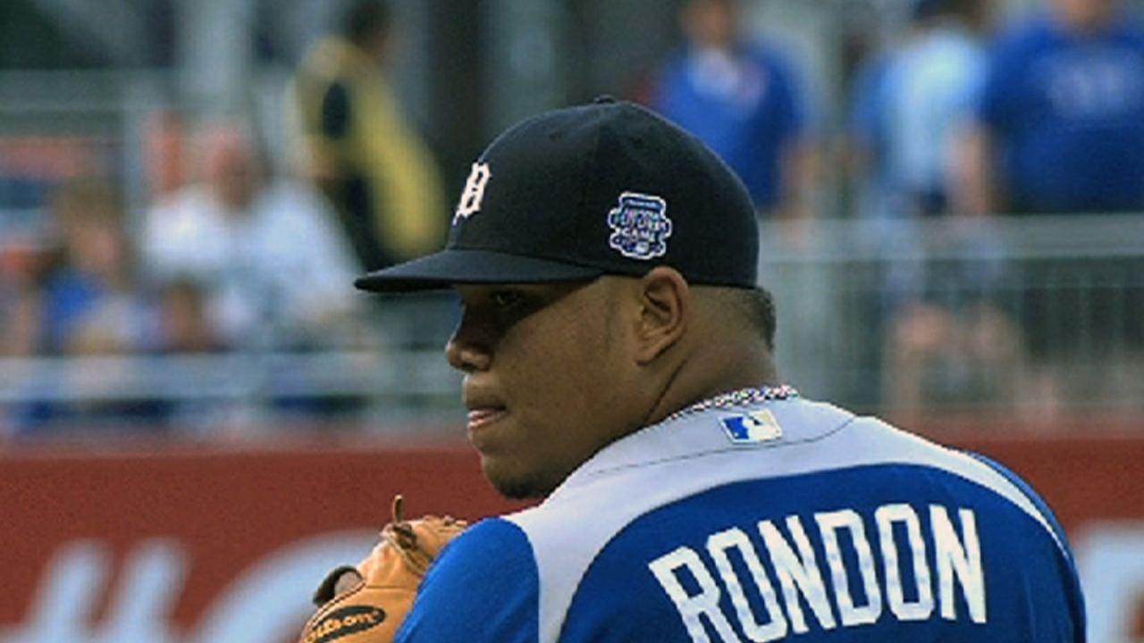 Rondon showcases slider in efficient outing