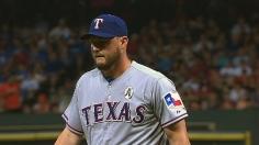 Rangers' new AL West rival delivers opening blow