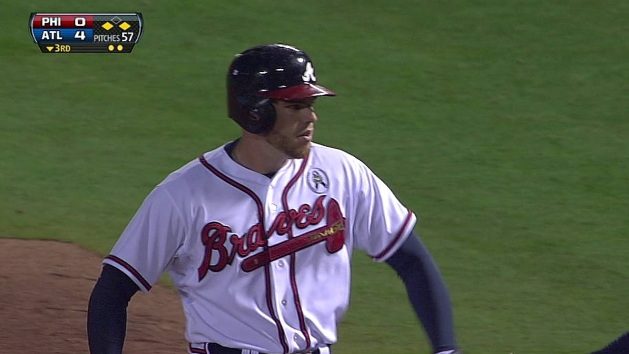 Freeman looking at Monday return to Braves