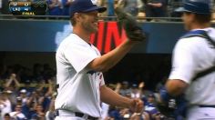 Kershaw dazzles with shutout, homer vs. Giants