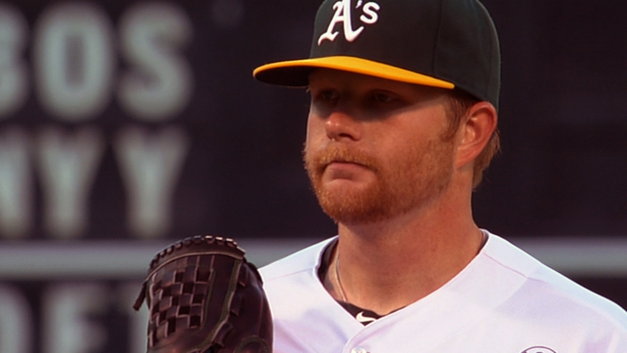 Anderson impresses but A's offense overmatched