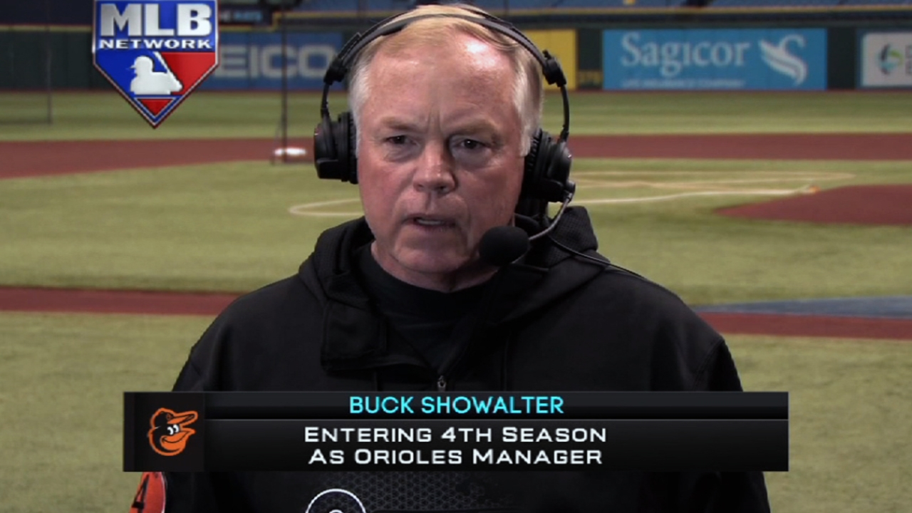 Buck not concerned about Dodgers' pitching change