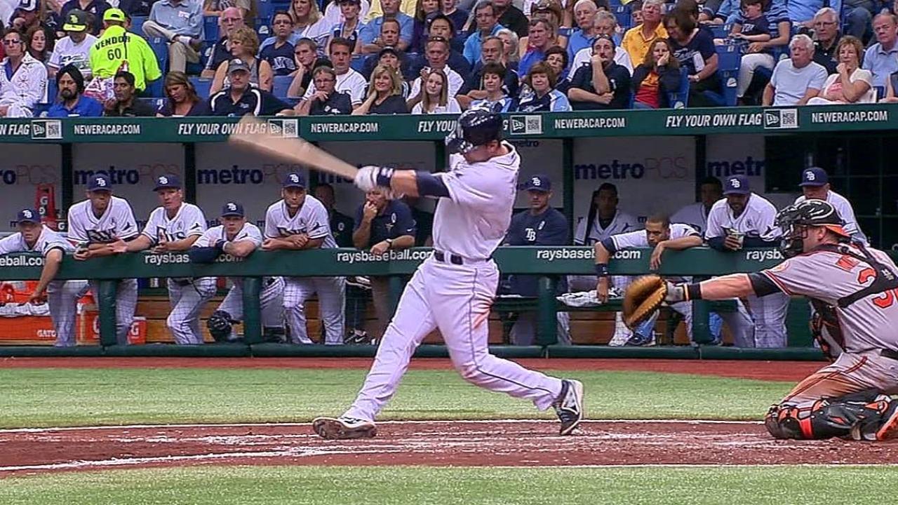 Rays caen ante Orioles en primer compromiso del 2013