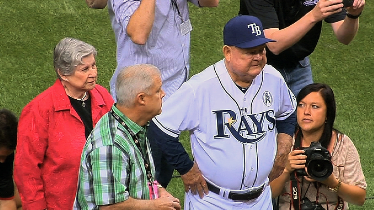 Zimmer at heart of Rays' opening ceremony
