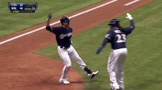 Braun homers, but 'weird' rally breaks Brewers