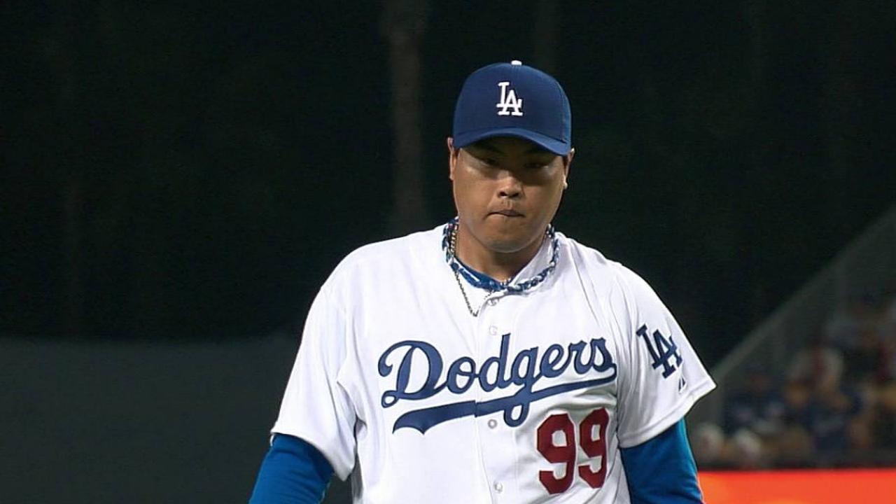 Ryu tuvo sólido debut pero Dodgers perdieron