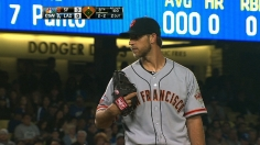 Bumgarner subdues Dodgers with eight-inning gem