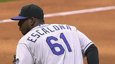 Rockies activate Escalona to bolster bullpen