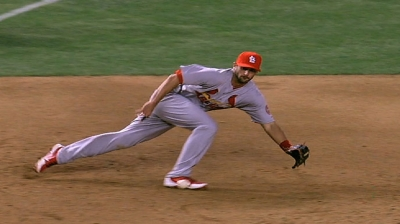 Carpenter, Descalso to split second base