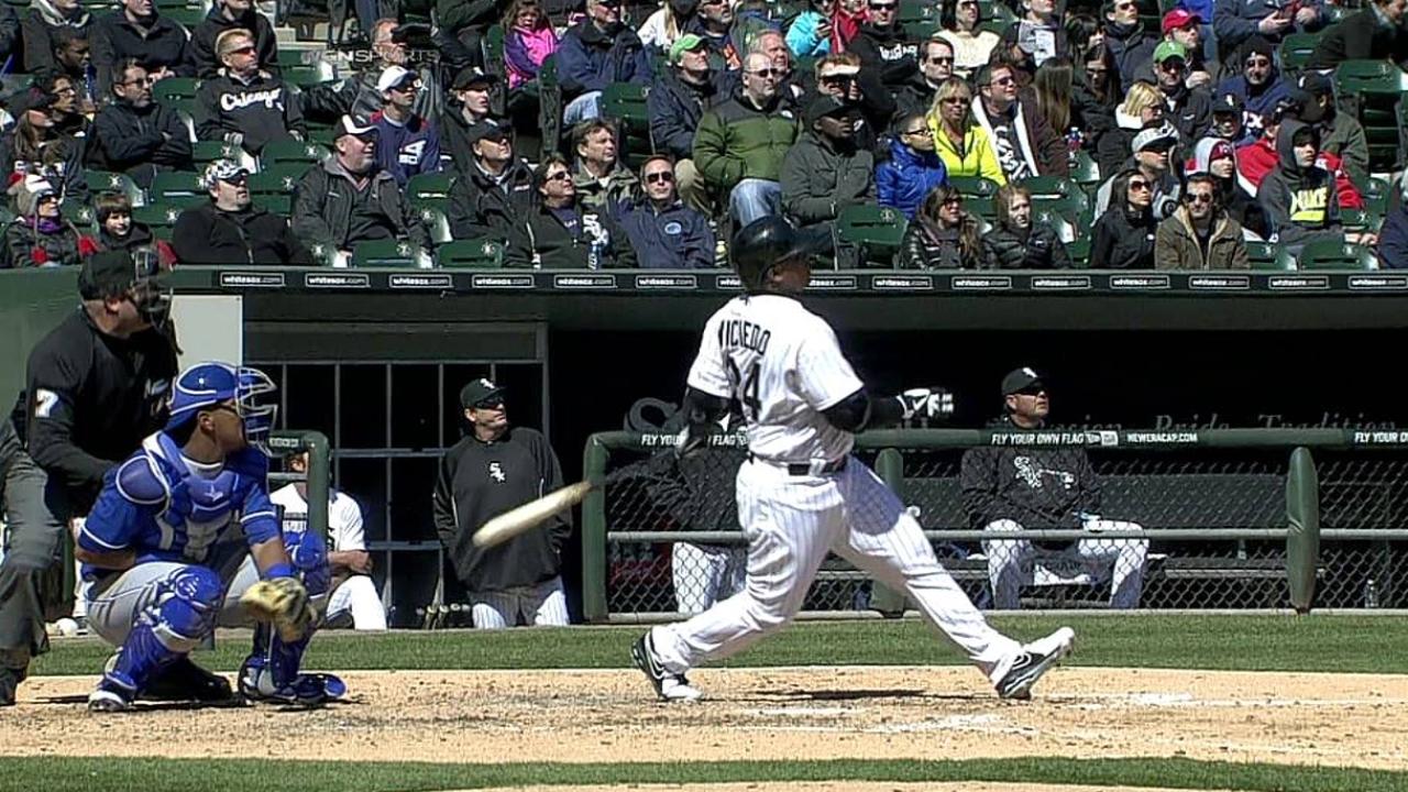 White Sox dieron cuatro HR para vencer a Reales