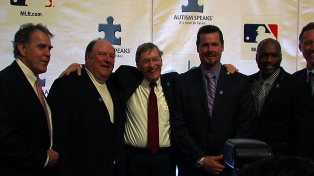 MLB aims to raise awareness of autism