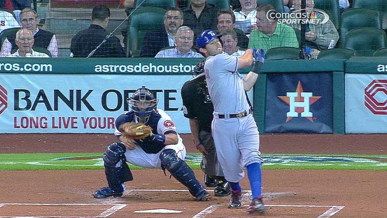 Ataque de Astros de nuevo fue maniatado por Rangers