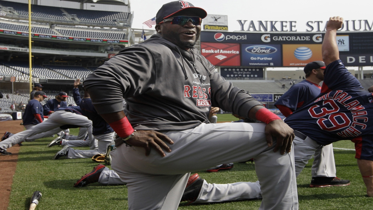 Papi could return to lineup by middle of April
