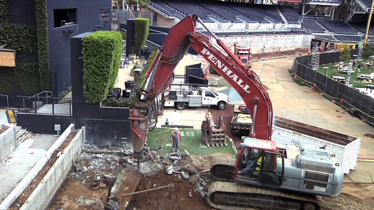 Padres eager to see Petco Park's new dimensions