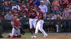 D-backs outlast Cards on Pennington's walk-off
