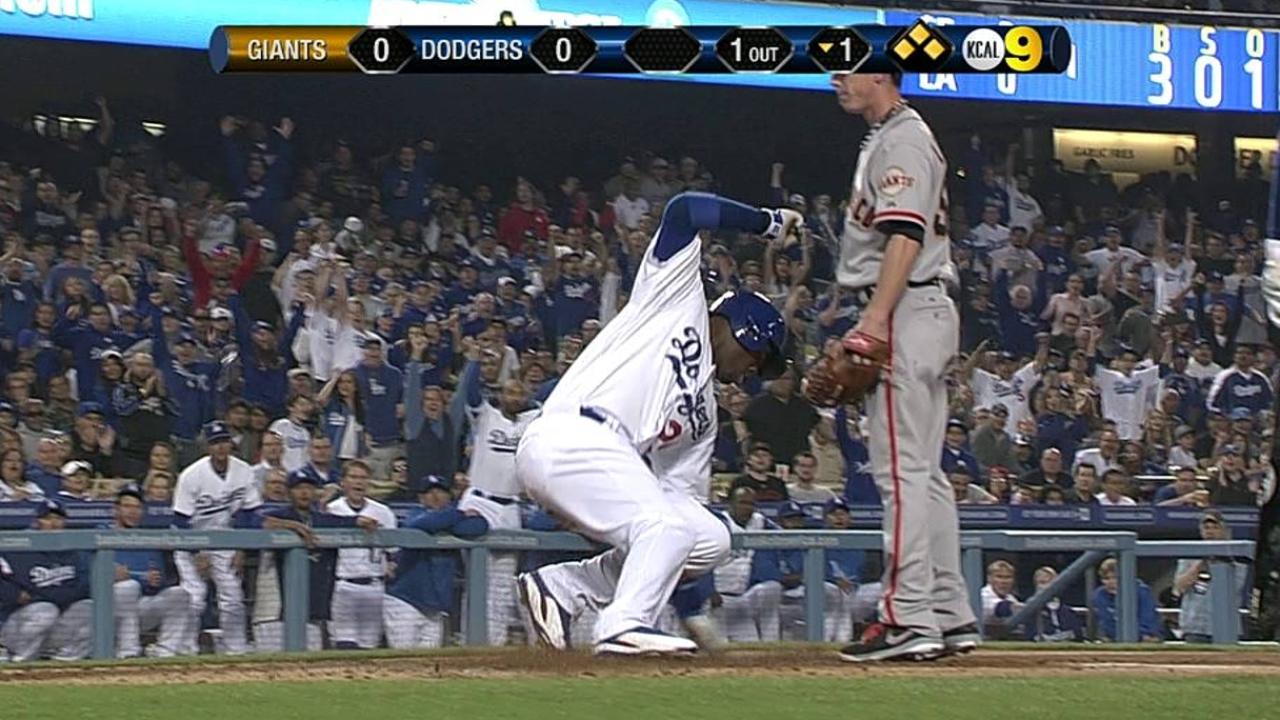 Beckett falla y Dodgers dejan ir serie vs. S.F.