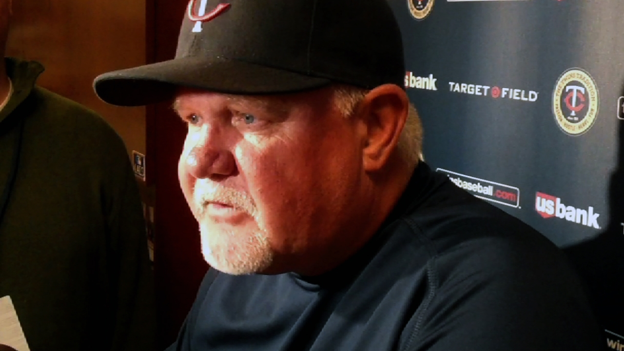 Gardenhire focused on Twins, but eyeing prospects