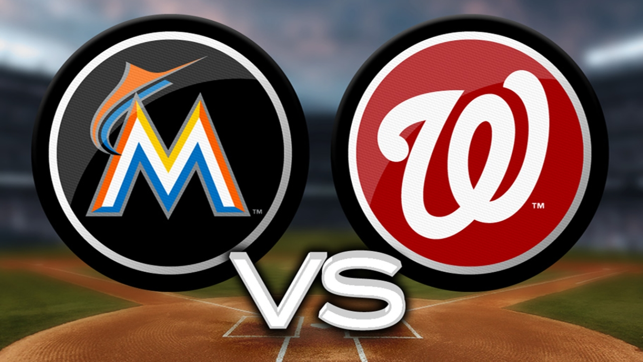 Marlins tip cap to top Nationals pitchers
