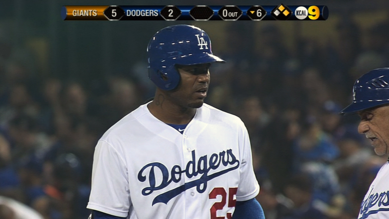 Crawford's Dodgers career off to strong start
