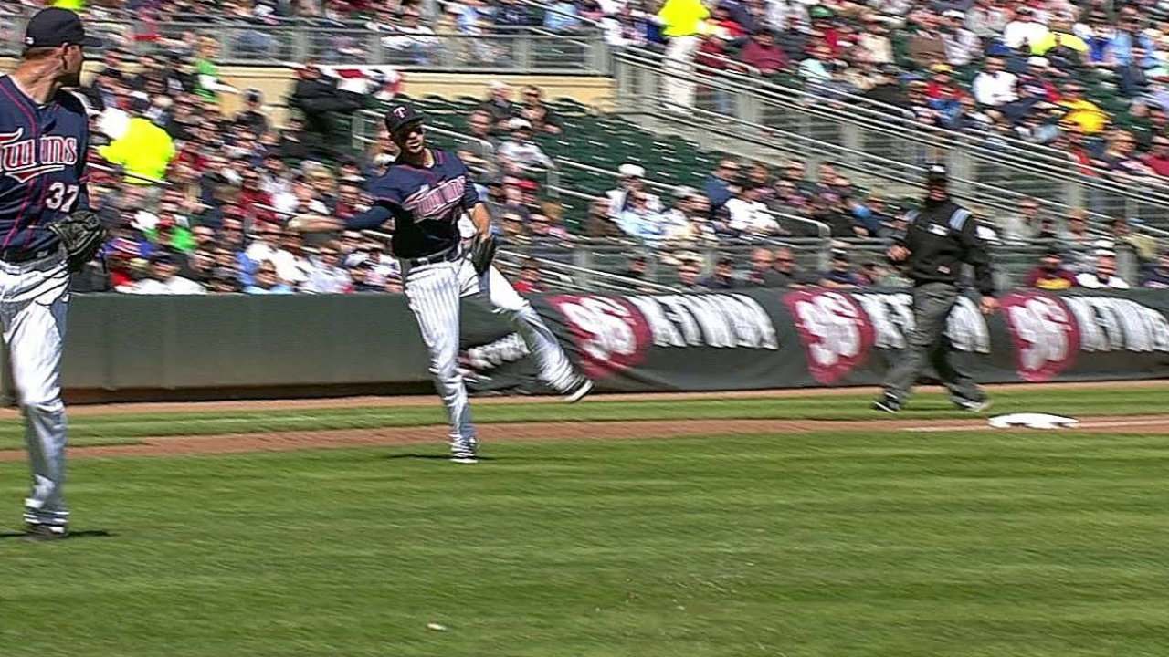 Hunter surprised by sacrifice bunt call