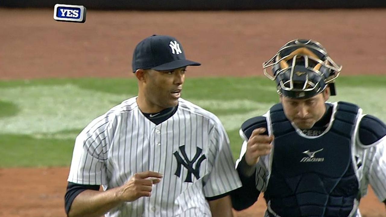 Rivera regresa y Yankees logran su primera victoria