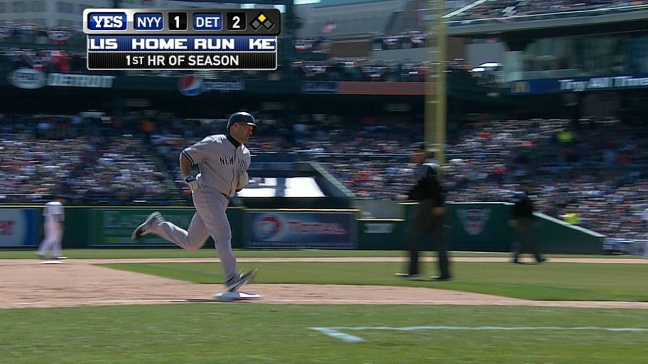 Youk goes deep, but Yanks can't contain Prince, Tigers
