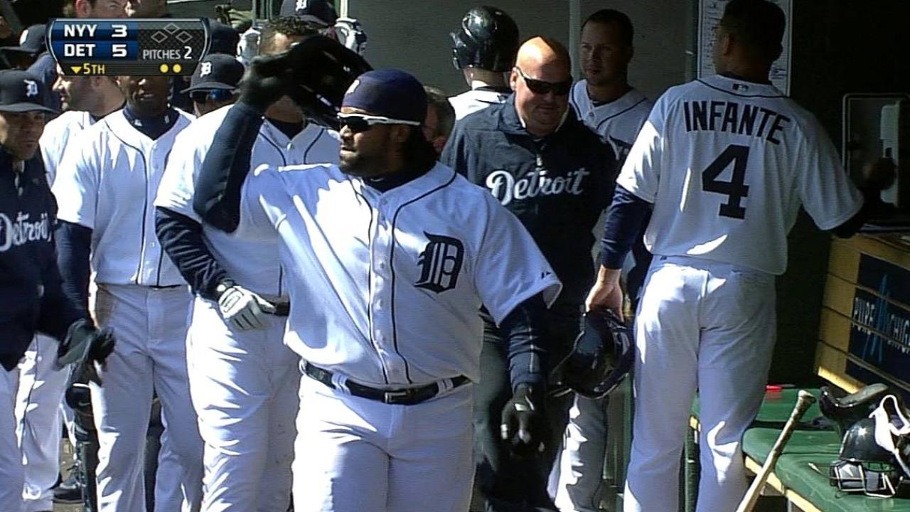 Fielder dio dos HR en triunfo de Tigres sobre Yankees