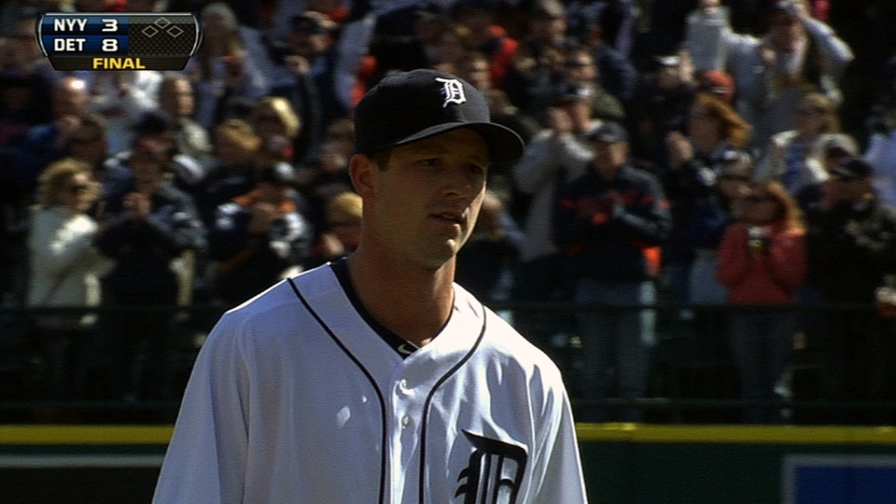 Smyly earns first save vs. favorite foe