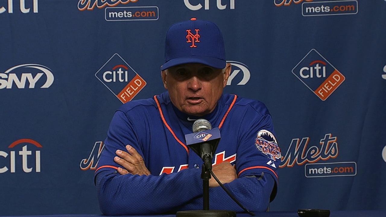 Hefner solid, Murphy homers, but Mets come up short