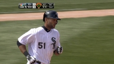 Rios' two-run blast helps White Sox best King Felix